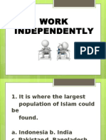 Work Independently