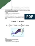 Marco Teórico Bernoulli