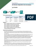 11 2 4 5 Practica de Laboratorio Acceso a Dispositivos de Red Mediante SSH