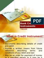 Bank Credit Instrument