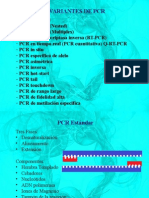 Variantes de PCR