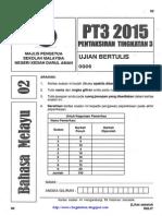Peperiksaan Percubaan PT3 2015 Kedah (BM)