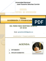 4.- Inversion y Financiamiento