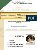 5.- COSTOS E INGRESOS (1)