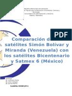 Comparacion de Satelites