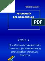 Teorias Del Desarrollo Humano Unidad i Semana II Sesion 3
