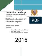 Habilidades Sociales Informe Final