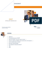 GMAT-Virtual Session (Spanish)