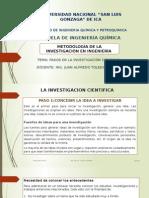 Clases Pasos en La Investigacion