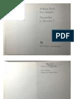 Psicoanálisis y Educación 1 Wilhelm Reich y Vera Schmidt