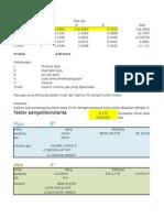 Gas Volume Calculation