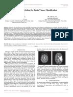 Advance Method for Brain Tumor Classification