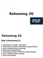 Rehoming 3G