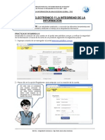 Integridad de Información - Ecommerce TISG