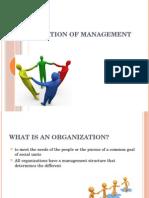 Presentation of Management