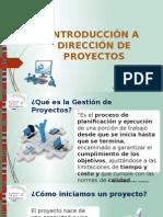 Introducción de Proyectos TI - TISG