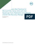 SRM Best Practices