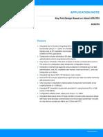 Atmel 9224 Key Fob Design Based on Atmel ATA5795 Application Note