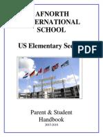 afnorth elementary handbook - 2015-2016