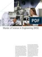 Master of Science in Engineering