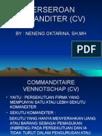 Pngertian CV,,Pndirian CV