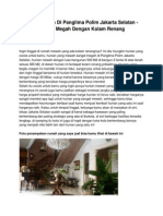 Dijual Rumah Di Panglima Polim Jakarta Selatan - Hunian Megah Dengan Kolam Renang - www.rumahku.com