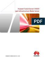 Huawei E9000 Blade Server Brochure
