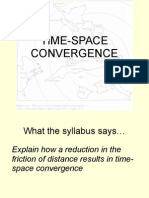 3 time space convergence