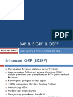 Bab 8 Eigrp & Ospf