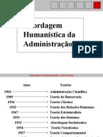 Material Tga Teoria Humanista Ate Estruturalista