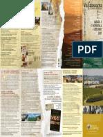 Via Francigena 2015 - Il Programma