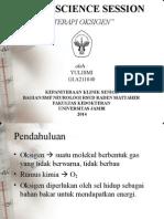 CLINIC SCIENCE SESSION -- terapi oksigen.ppt