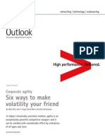 Accenture Outlook Corporate Agility Six Ways to Make Volatility Your Friend Full Report