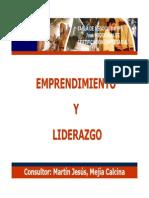 Emprendimiento y Liderazgo Martin Mejia