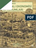 Şevket Pamuk - Osmanlı Ekonomisi Ve Kurumları