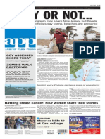 Asbury Park Press front page Friday, Sept. 2 2015