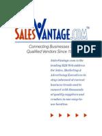 Sales Vantage Media Kit