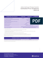 Universities in USA Price List
