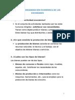 U. 7 La Organización Económica