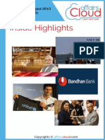 Current Affairs August 2015 PDF V1 by AffairsCloud