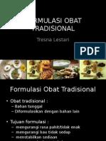 4. Formulasi Obat Tradisional 1516