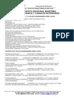 Pronóstico Regional Marítimo Área Oceánica y Canales Interiores