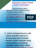 G Dasar Belanjawan Fiskal[1]