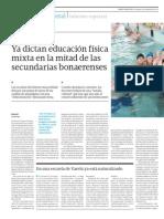 36Clases mixtas de educación física en provincia de Buenos Aires