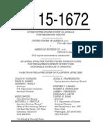 Appeal US v 17 States v Amex Filed 14 September 2015