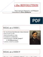 Rizal & the Revolution