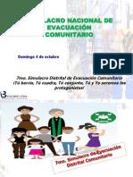 Simulacro de Evacuacion Comunitario