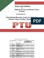 PG Diploma_UHVE Scheme