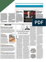 Economía Peruana 25 Años Después