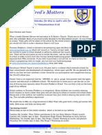 newsletter oct 2nd